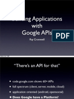 16974100 Building Applications With Google APIs