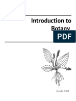intro to botany