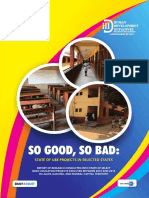 So Good So Bad State of Ube Projects in Kaduna, Lagos and Fct