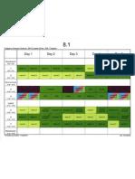 8.1 Sem02 Timetable