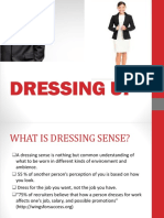 DRESSING - UP PPT