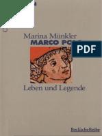 Marco polo Legende und Leben