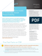 Weber Shandwick Social Impact CSR Five Fast Facts