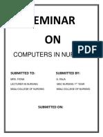 SEMINAR 0N COMPUTERS IN NURSING.docx