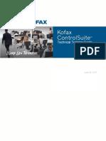 Kofax ControlSuite Technical Training Guide