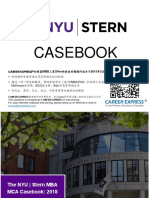 NYU Stern Casebook Consulting Case Interview Book 2018_2019纽约大学斯特恩商学院咨询案例面试
