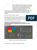Global Document Services Market