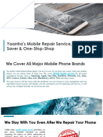 Mobile Repair PPT