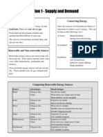SG Energy Matters Summary Notes