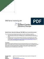 DMZ Server Monitoring With SCOM 2007_v0.3[1]