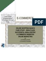 E-commerce - Case Study  - Online Shopping Malls - Basics -