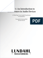 White paper on Lundahl Transfomers 1
