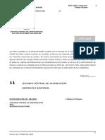 Boletín Estadísitico Jdo Central Instruccion 2020