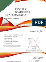 Sistemas frigorificos - compressores, cond e evaporadores.pptx