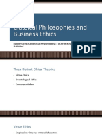 2.1. Philosophers and Business Ethics