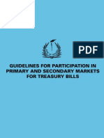 Primary and Secondary Mrkts for Treasury Bills