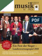 Blasmusik in Tirol - Ausgabe 4 2010