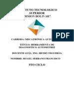 INSTITUTO TECNOLOGICO SUPERIOR - HERRAMIENTAS DE DIAGNOSTICO.docx