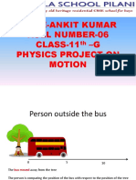 Motion and equation of motion