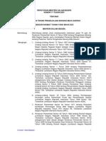 Permendagri No.17 Tahun 2007