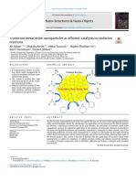 Transition metal oxide nanoparticles as efficient catalysts in oxidation