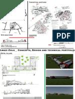 Mixed design portfolio