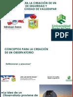 OBSERVATORIO  DE SEGURIDAD Y CONVIVENCIA PDF