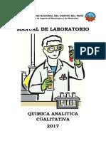 Manual de Laboratorio de Quimica Analitica Cualitativa