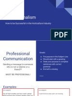 1- professionalism   leadership