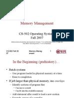 Week 04, Memory Management.ppt