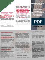 MODELO DE FOLLETO ANTISOBORNO POR LA ISO 37001