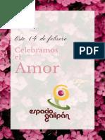 Celebramos El Amor 14 febrero