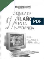 Cronica de Mil años en la Provincia de Alicante