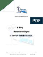 El blog herramienta digital al servicio de la educación