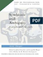 [The New Library of Psychoanalysis] José Bleger, John Churcher, Leopoldo Bleger - Symbiosis and Ambiguity_ A Psychoanalytic Study (2012, Routledge).pdf