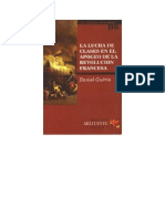 Guerin Daniel - La Lucha De Clases En El Apogeo De La Revolucion Francesa