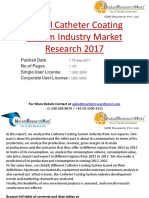 Global Catheter Coating System Industry Market Research 2017
