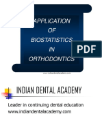 biostatistics in orthodontics.ppt
