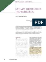 Sistemas Terpaeuticos Transdermicos