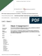 Intermediate Level of Spoken Sanskrit - - Unit 5 - Week 3