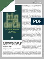 Eutopias Big Data y el Internet de las cosas