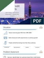 Team 14_Project Presentation -  Taiwan Credit Defaults v1.0