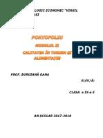 portofoliu CALITATEA ÎN TURISM ȘI ALIMENTAȚIE.docx