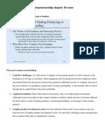Entrepreneurship chapter 10 notes.docx