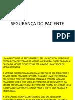 4a. aula METAS INTERNACIONAIS DE SEGURANÇA DO PACIENTE