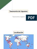 Taxonomía de Líquenes (3)