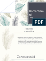 Romantismul Proiect