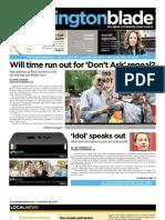 washingtonblade.com - vol. 41, issue 48 - november 26, 2010