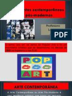 Arte Contemporânea..pptx