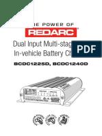 BCDC Dual Input Instruction Manual